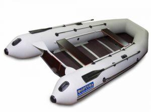 Лодка ПВХ Фортуна 3700 серия P под мотор надувная двухместная