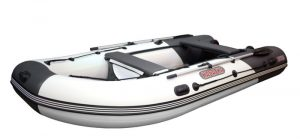 Лодка ПВХ Касатка KS 365 надувная под мотор