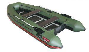 Лодка ПВХ Кайман N-380 надувная под мотор