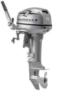Лодочный мотор Шармакс (Sharmax) SM15HS (15 л.с., 2 такта)
