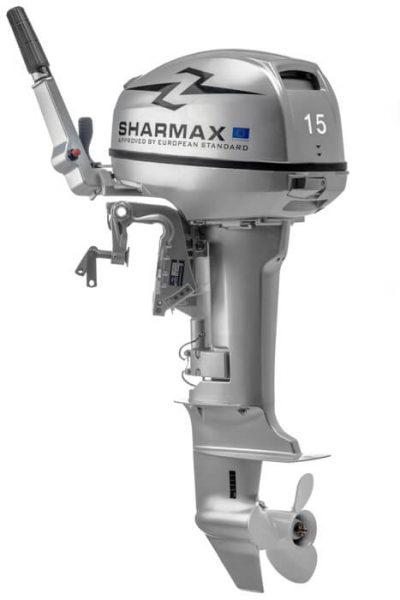 Фото мотора Шармакс (Sharmax) SM15HS (15 л.с., 2 такта)