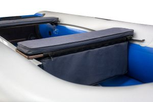 Фото мягкой накладки с сумкой (верх ткань) (95 см)