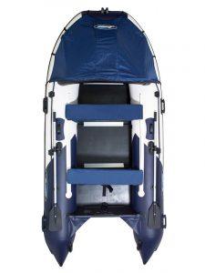 Лодка ПВХ Гладиатор (Gladiator) С 420 DP надувная под мотор