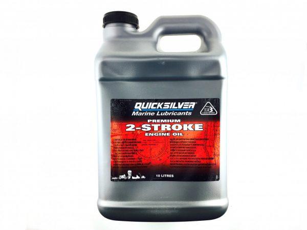 Фото Масло 2-х тактное Quicksilver Premium TC-W3 (10л)