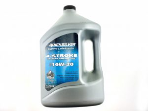 Масло 4-х тактное Quicksilver для подвесников минеральное 10W30 (4л)