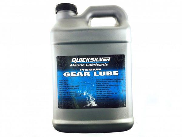 Фото Редукторное масло Quicksilver Gear Lube SAE 80W90 (10л)