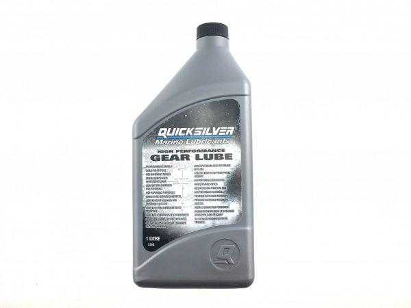 Фото Редукторное масло Quicksilver High Performance Gear Lube SAE 90 (1л) с насосом