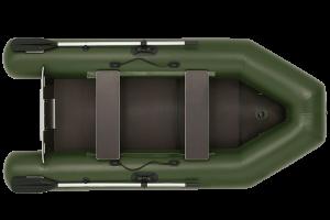 Лодка ПВХ Фрегат 280 ЕК надувная под мотор