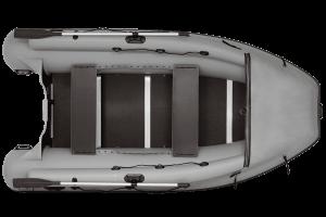 Лодка ПВХ Фрегат M-430 F надувная под мотор